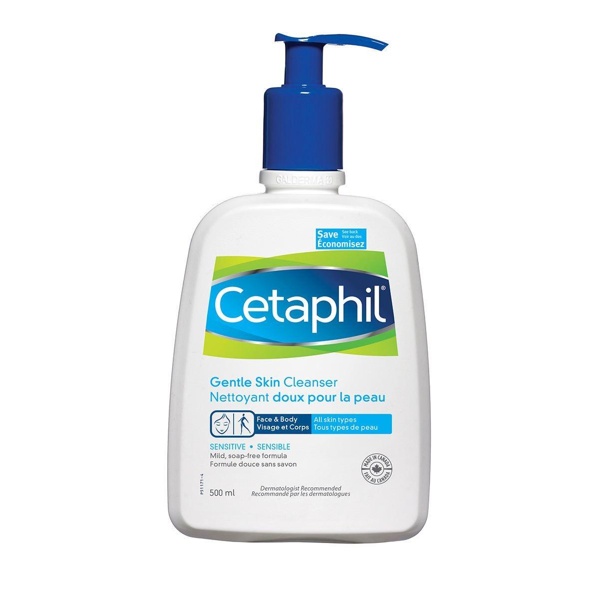 افضل غسول للبشرة المختلطة - غسول سيتافيل اللطيف للبشرة المختلطة CETAPHIL GENTLE FOAMING CLEANSER