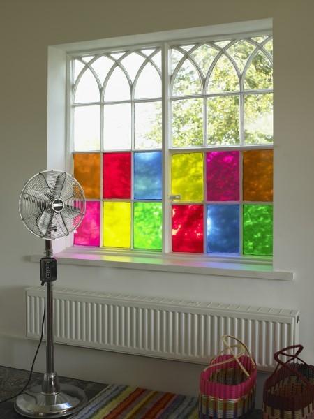 -انواع زجاج الشبابيك -زجاج النوافذ الملونة