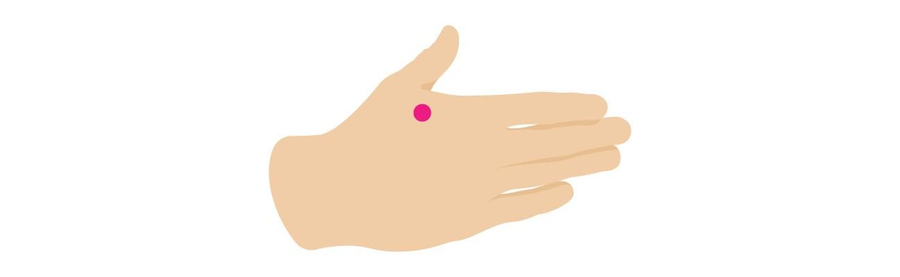 طريقة علاج الصداع بالتدليك اليد