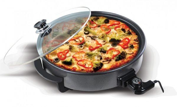 أفضل أنواع صانعة البيتزا - صانعة بيتزا من سينبو 1500 وات[SP-5204]