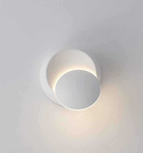 ديكورات إضاءة جدارية مودرن- شمعدان حائط دائري