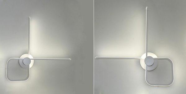 ديكورات إضاءة جدارية مودرن - مصباح حائط LED خطي أنيق