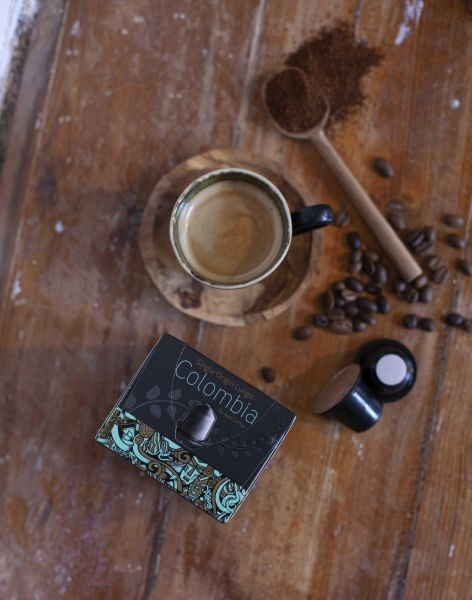 أفضل أنواع كبسولات القهوة - قهوة اسبريسو لانجو كولومبيا من ريل كوفي