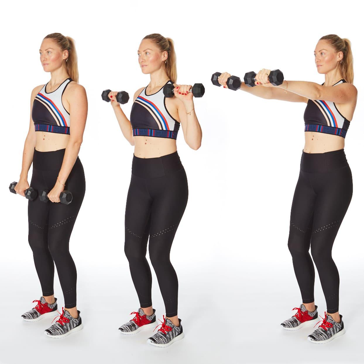 تمارين تخسيس الذراعين- التمرين العاشر