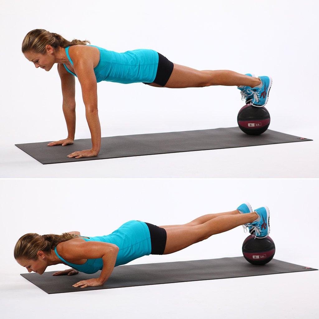 تمارين تخسيس الذراعين- التمرين الثاني بدون أثقال