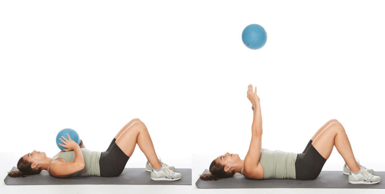 تمارين تخسيس الذراعين- التمرين الثالث بدون أثقال
