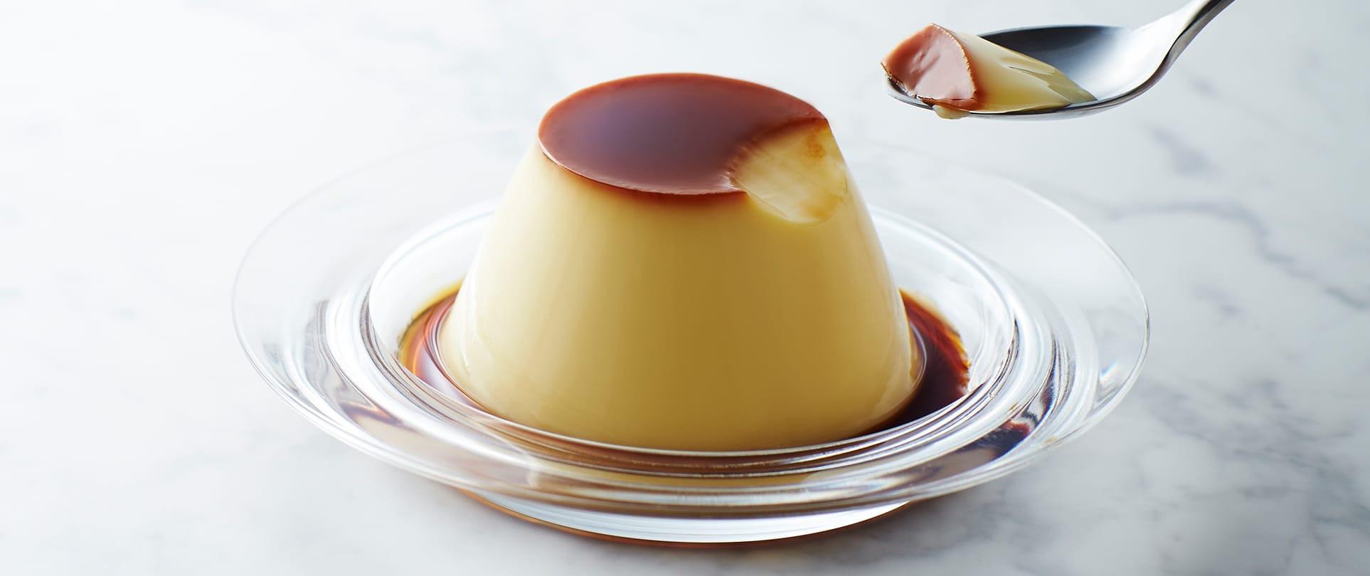 أكلات بالحليب السائل - طريقة عمل الكريم كراميل بدون فرن