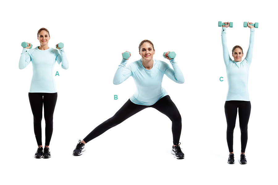 تمارين لشد الجسم - التمرين الأول لشد الجسم