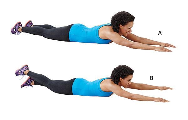 تمارين لشد الجسم - التمرين الثاني لشد الجسم