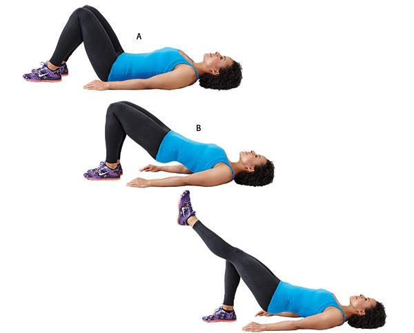 تمارين لشد الجسم - التمرين الثالث لشد الجسم