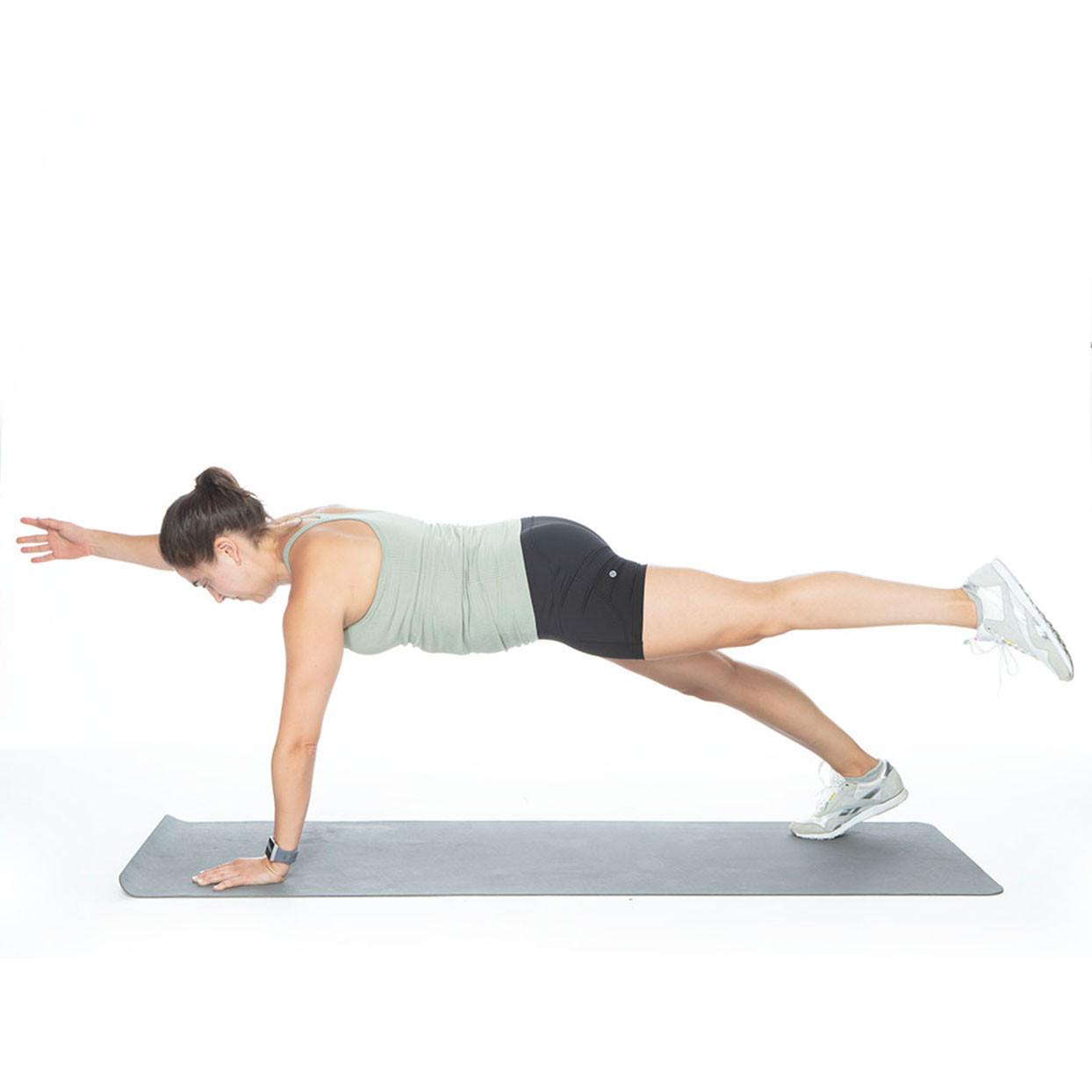 تمارين شد الجسم - التمرين الأول لشد البطن