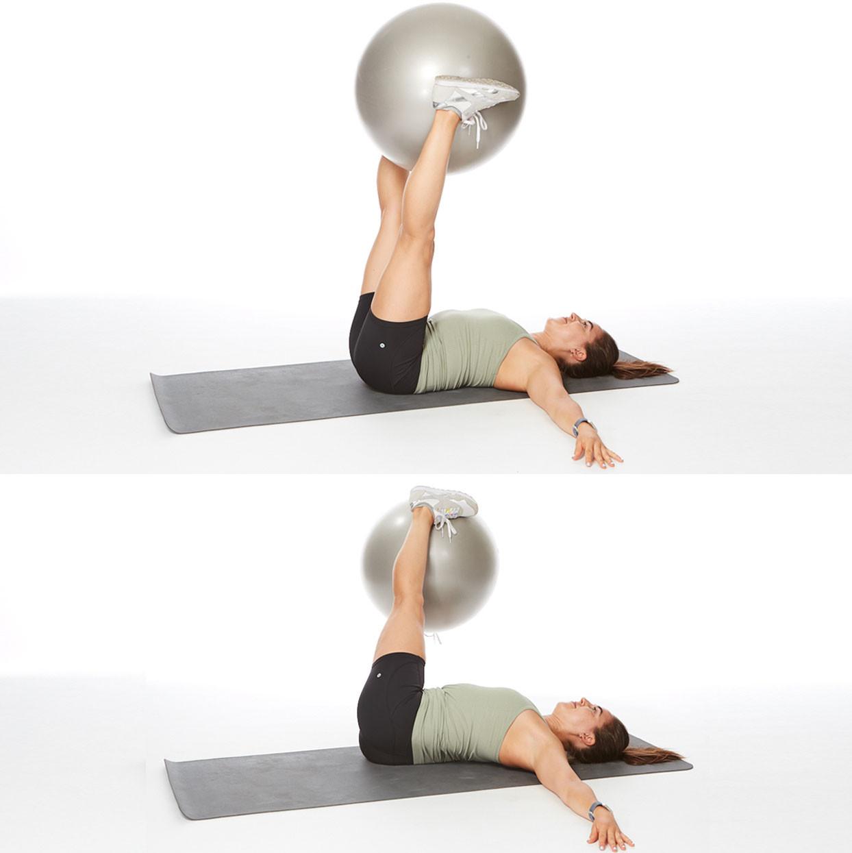 تمارين لشد الجسم - التمرين الثالث لشد البطن