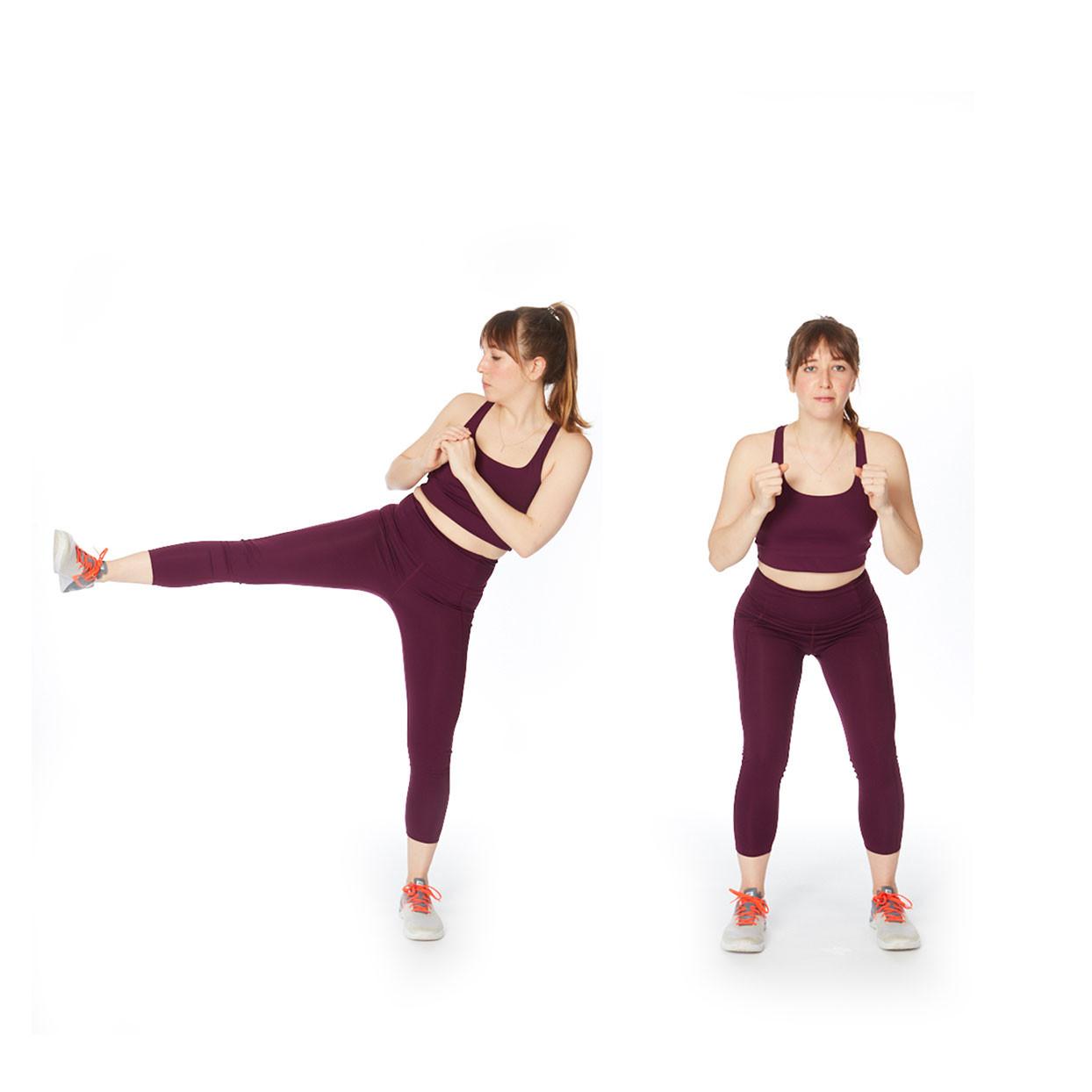 تمارين لشد الجسم - التمرين الأول لشد الفخذ