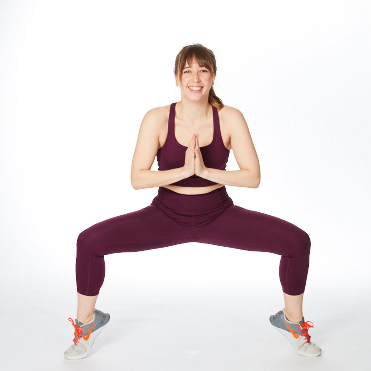 تمارين لشد الجسم - التمرين الثالث لشد الفخذ