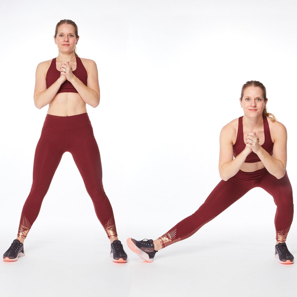 تمارين لشد الجسم - التمرين الأول لشد المؤخرة