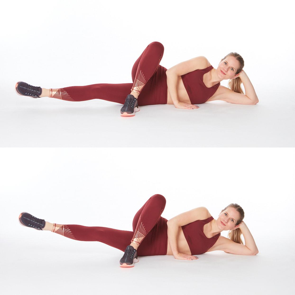 تمارين لشد الجسم - التمرين الثالث لشد المؤخرة