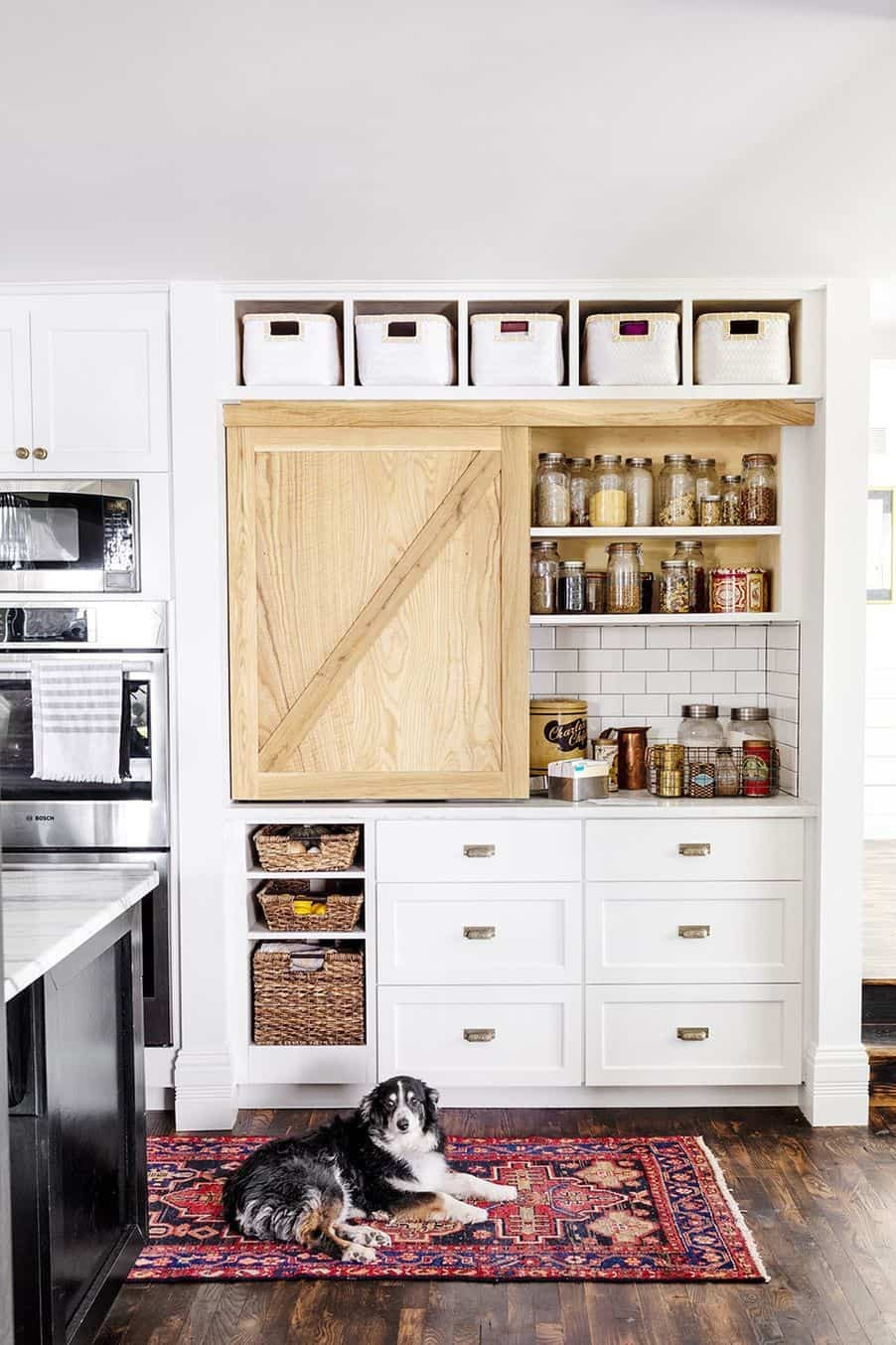 ديكورات مطابخ صغيرة مفتوحة- مطبخ قطعة واحدة