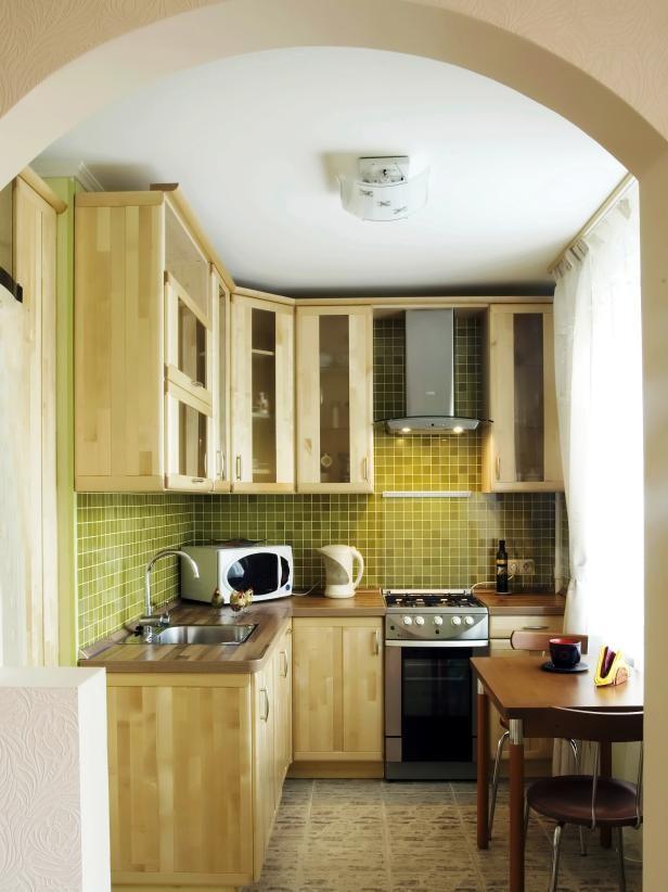 ديكورات مطابخ صغيرة مفتوحة- المطبخ المفتوح تمامًا
