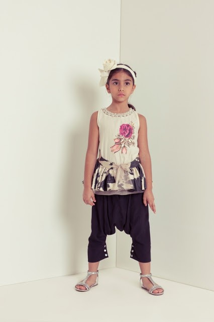 ملابس رمضانية للأطفال 2020- البنطلون الفضفاض للبنات