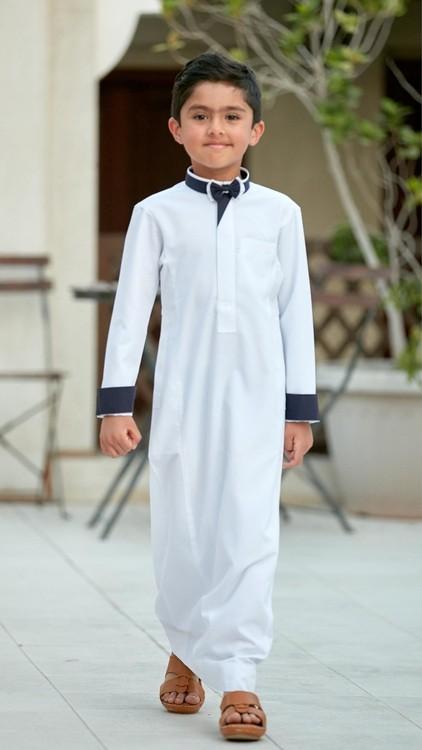 ملابس رمضانية للأطفال 2020- الجلباب للأولاد