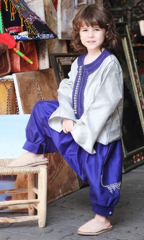 ملابس رمضانية للأطفال 2020- الملابس المستوحاة من القفطان
