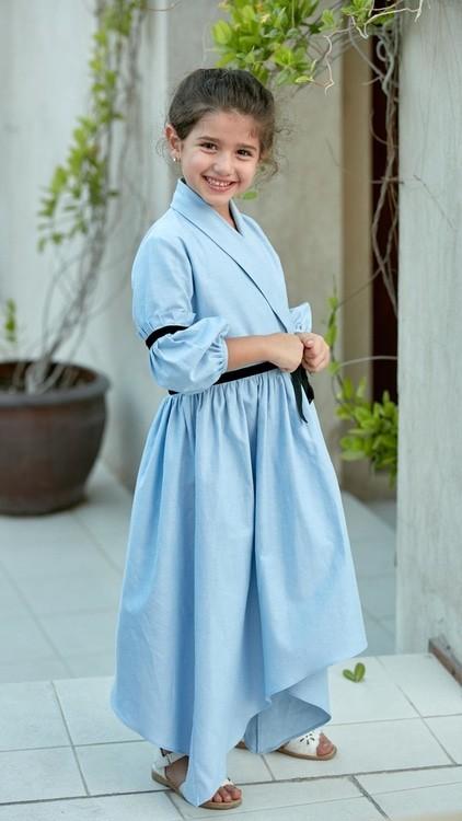 ملابس رمضانية للأطفال 2020- الملابس المستوحاة من الكيمونو