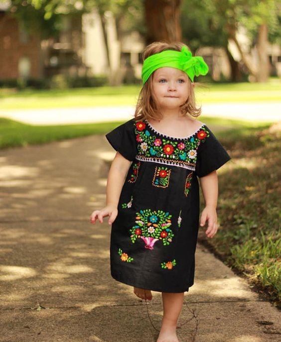 ملابس رمضانية للأطفال 2020- فساتين بنات
