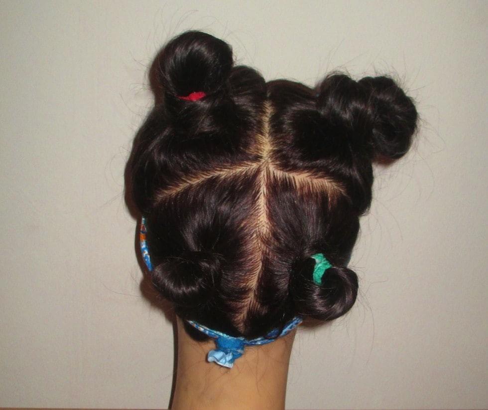 طريقة عمل شعر كيرلي للأطفال- طريقة عمل الشعر الكيرلي بالكعكات