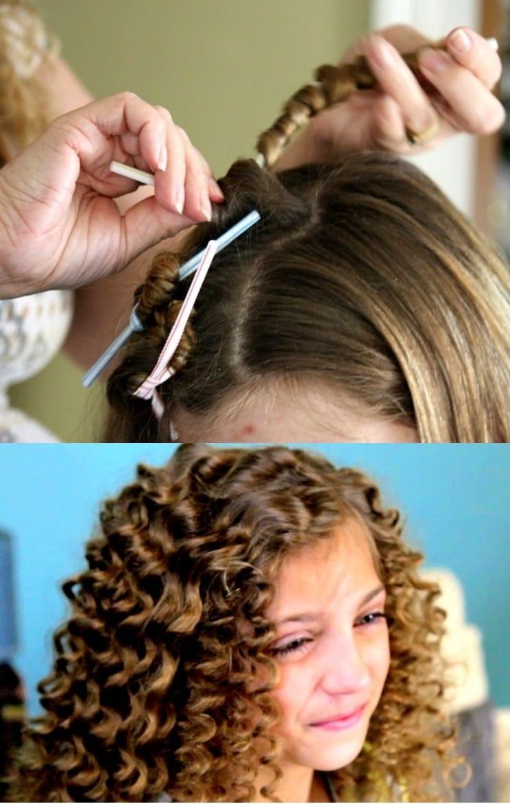 طريقة عمل شعر كيرلي للأطفال- الشاليموه لعمل شعر كيرلي