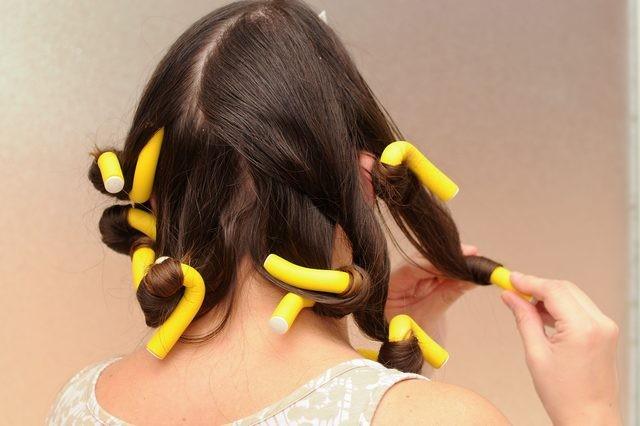 طريقة عمل شعر كيرلي للأطفال- الرولو لعمل شعر كيرلي