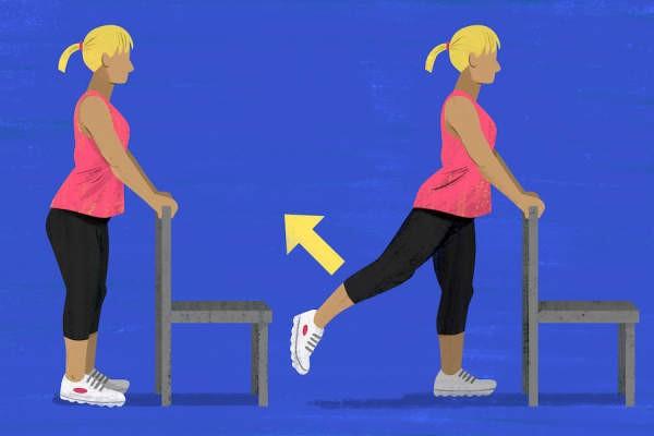 تمارين خشونة الركبة - التمرين الثاني