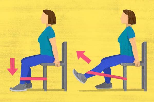 تمارين خشونة الركب ة- التمرين الثالث لخشونة الركبة