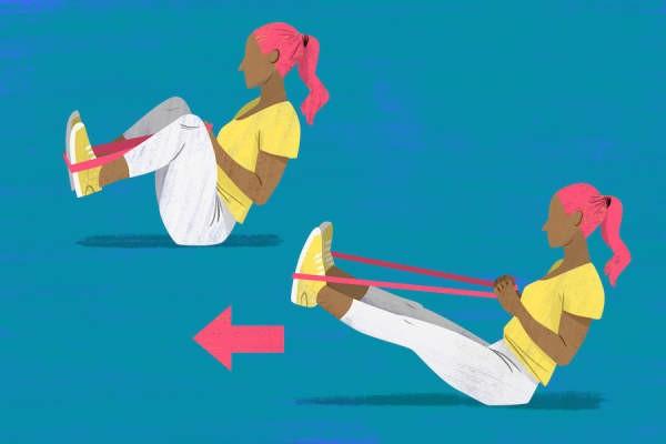 تمارين خشونة الركبة- التمرين الرابع لخشونة الركبة