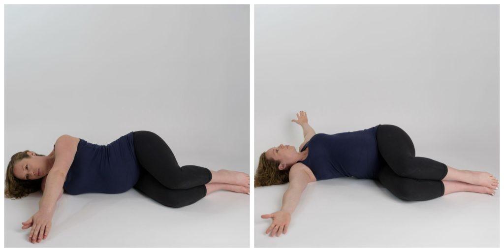تمارين الحوض للحامل - التمرين الأول