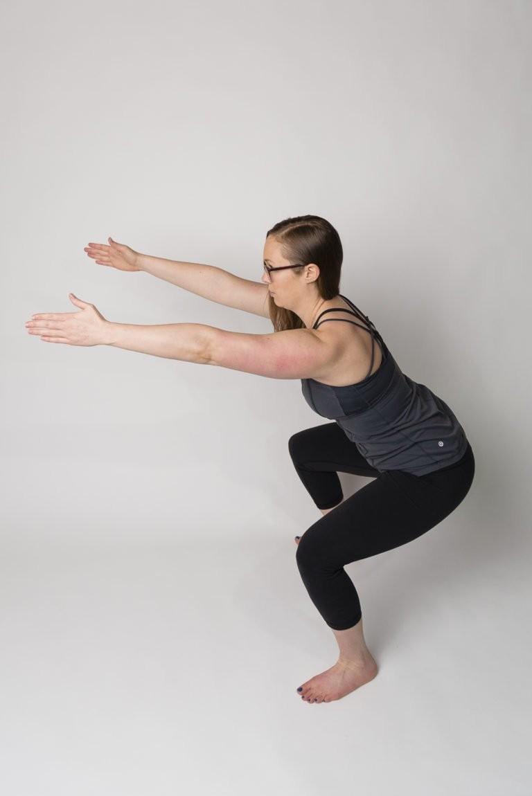 تمارين الحوض للحامل - التمرين الثاني