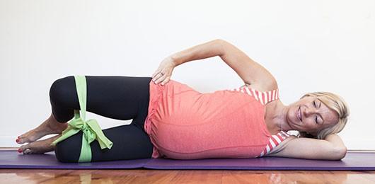 تمارين الحوض للحامل - التمرين الرابع