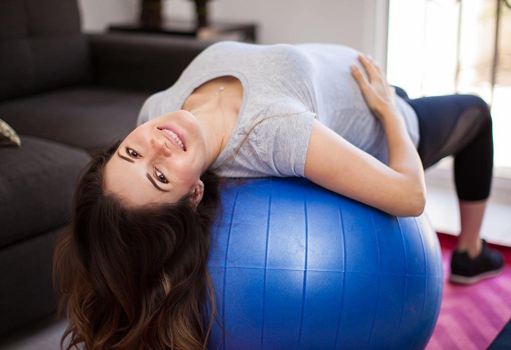 تمارين الحوض للحامل - التمرين الخامس