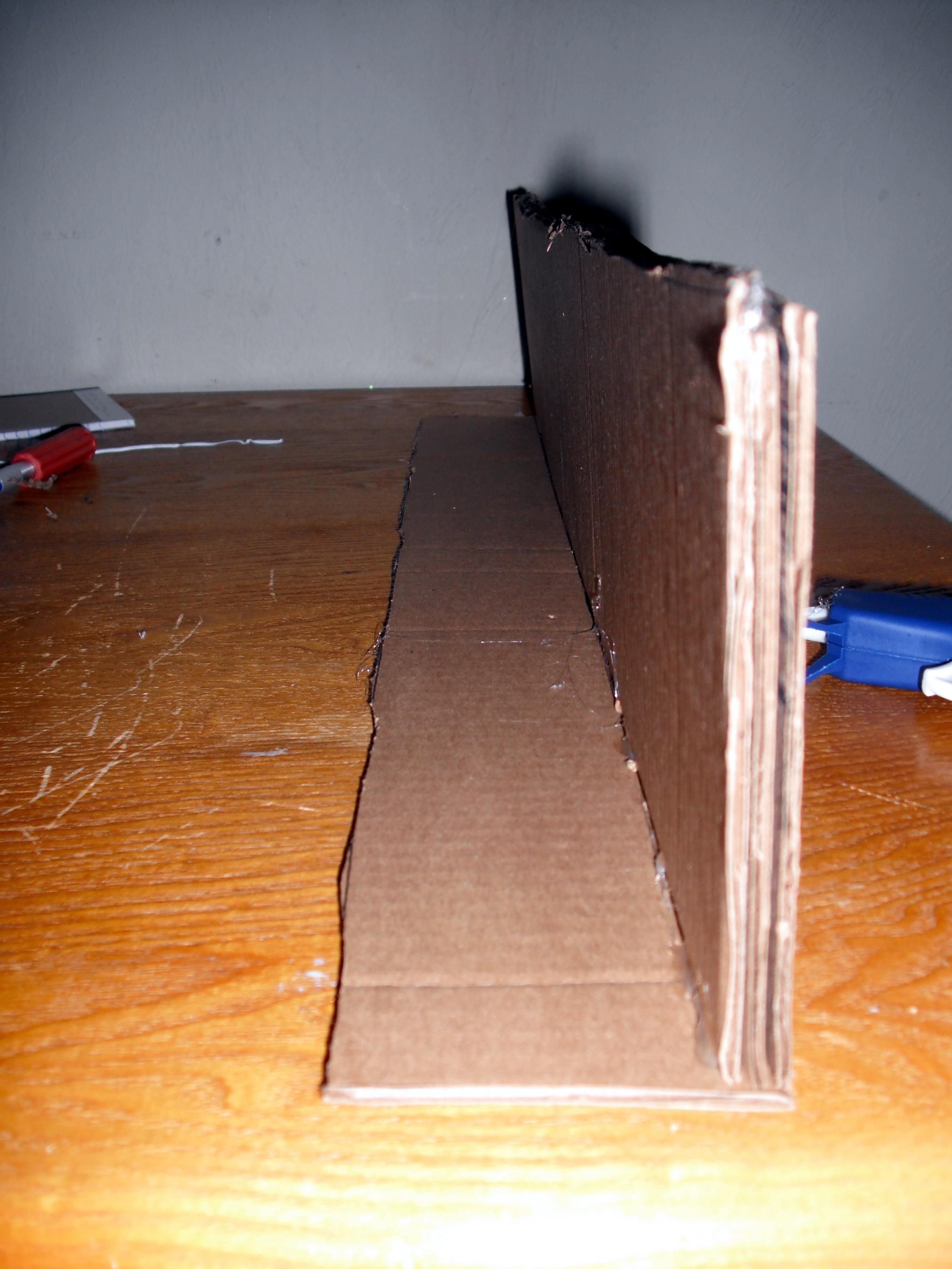 طريقة عمل رفوف من الكرتون- الصقي الأرفف