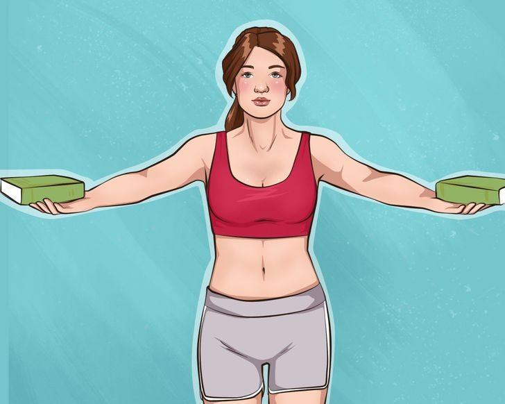 تمارين تصغير الثدي- التمرين الرابع