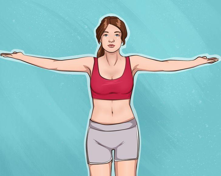 تمارين تصغير الثدي- التمرين السادس