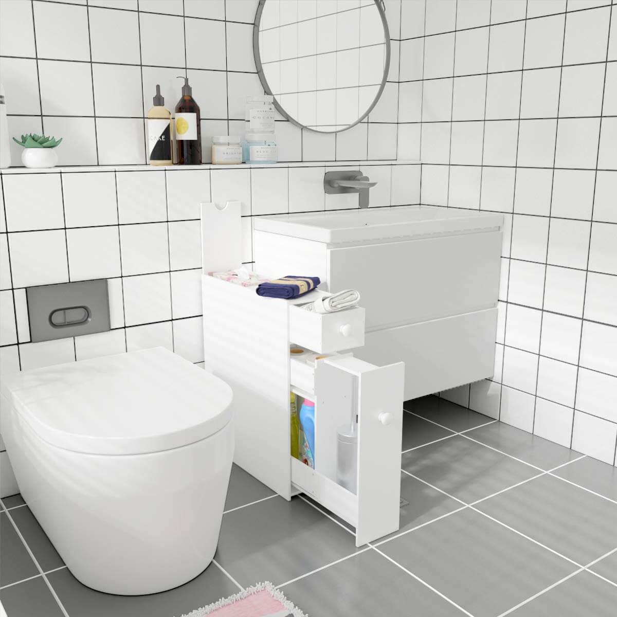منظمات الحمام- وحدة التخزين أسفل الحوض