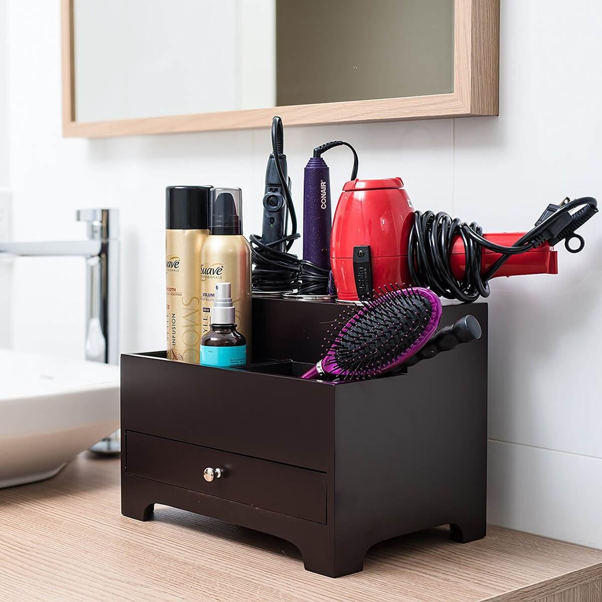 منظمات الحمام- درج المكياج