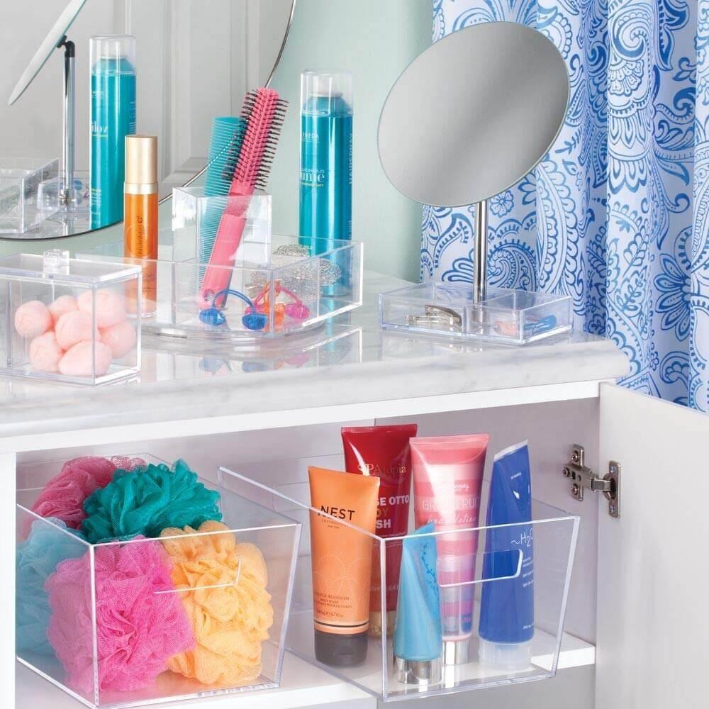 منظمات الحمام- منظمات بلاستيك منفصلة