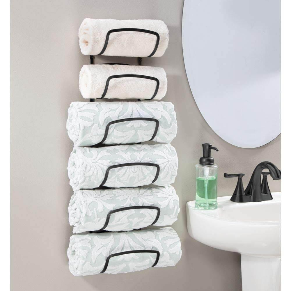 منظمات الحمام- حامل المناشف