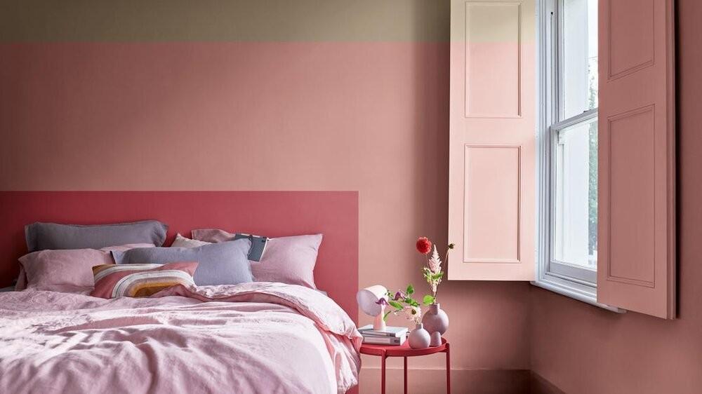 أحدث ألوان ديكور 2021- الوردي