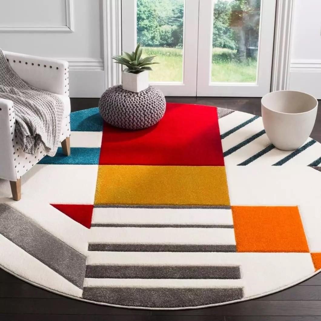 أشكال سجاد 2021- الألوان النابضة