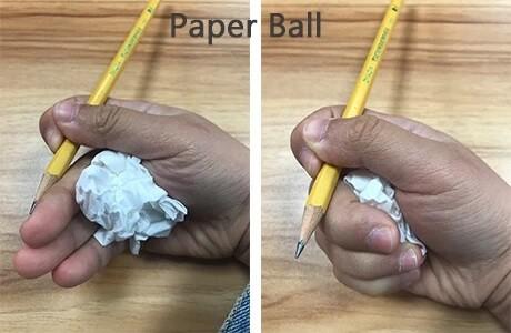 السن المناسب لتعليم الطفل الكتابة- طريقة كرة الورق