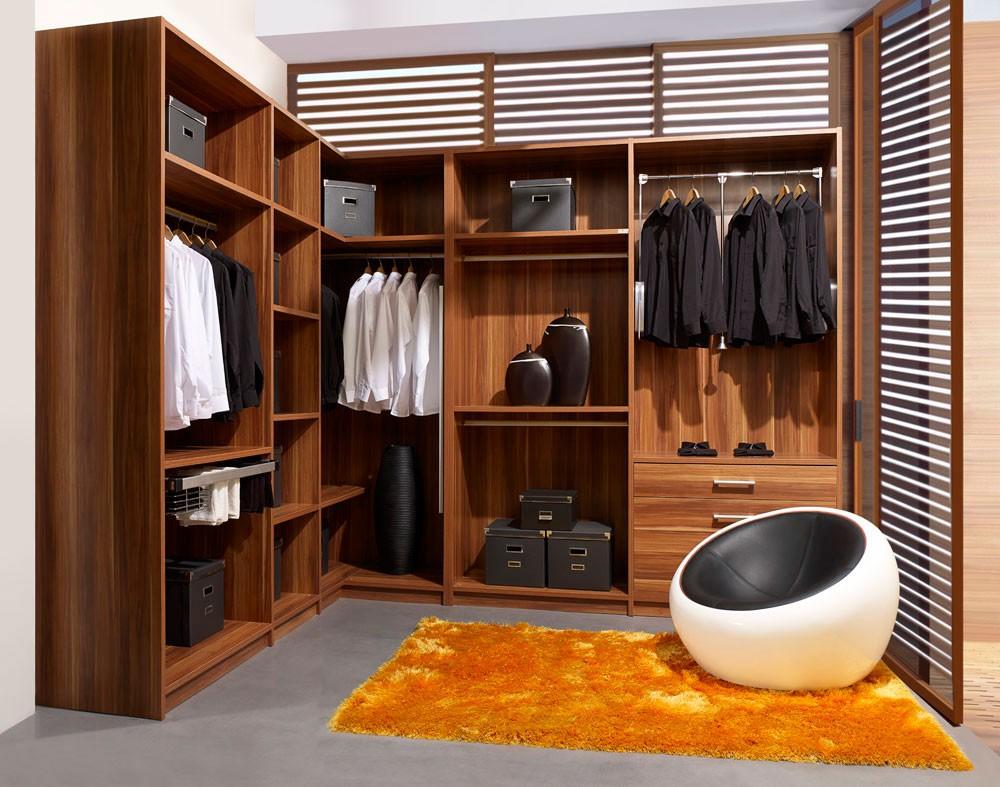 أفكار لتقسيم خزانة الملابس من الداخل- خزانة لزاوية الغرفة