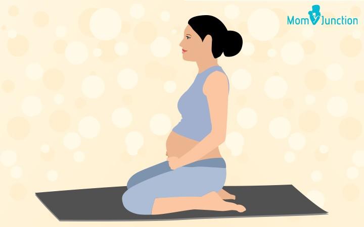 الرياضة أثناء الحمل- تمرين عضلات قاع الحوض