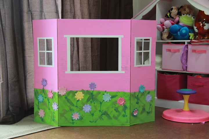 مسرح عرائس للأطفال- مسرح بتصميم منزل